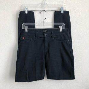 Hudson midnight nico super skinny midrise jeans 28